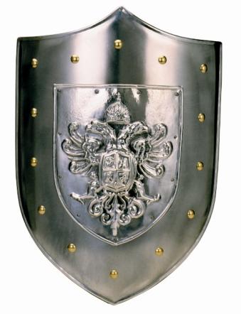 герб на щите